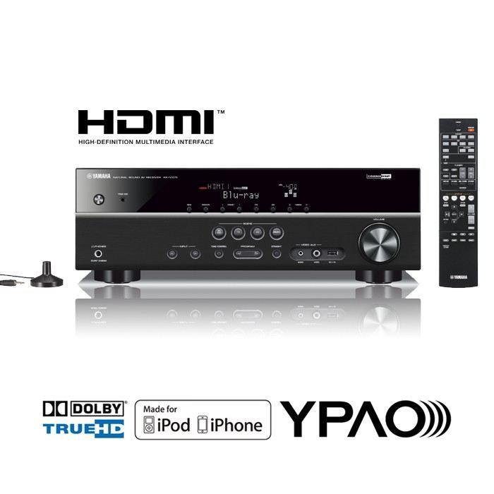 AMPLIFICATEUR YAMAHA RX-V375 Amplificateur Audio-Vidéo 5.1