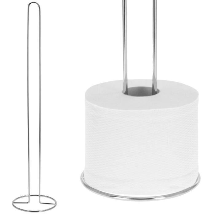 porte papier toilettes rangement wc a poser design inox 60 cm achat vente serviteur wc porte. Black Bedroom Furniture Sets. Home Design Ideas