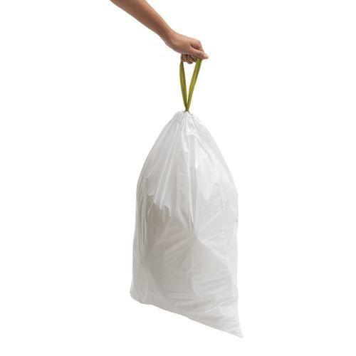 sacs poubelle simplehuman 50 l code q achat vente sac poubelle sacs poubelle simplehuman 5. Black Bedroom Furniture Sets. Home Design Ideas