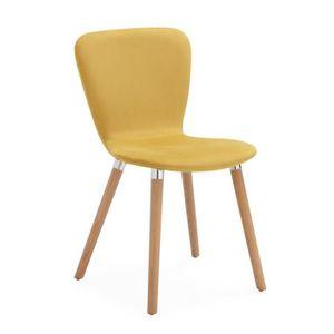 chaises de salle a manger jaune achat vente chaises de salle a manger jaune pas cher cdiscount. Black Bedroom Furniture Sets. Home Design Ideas