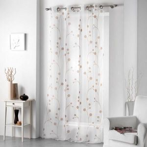 rideaux avec motifs achat vente rideaux avec motifs pas cher cdiscount. Black Bedroom Furniture Sets. Home Design Ideas