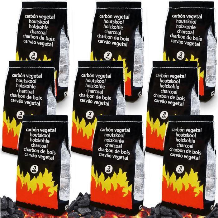 Charbon de bois barbecue 27 kilos achat vente charbon - Buche compressee avis ...
