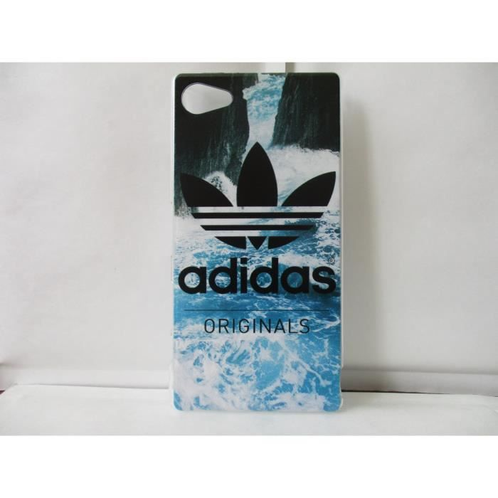 coque adidas sony xperia z5 compact neuf motif a achat. Black Bedroom Furniture Sets. Home Design Ideas