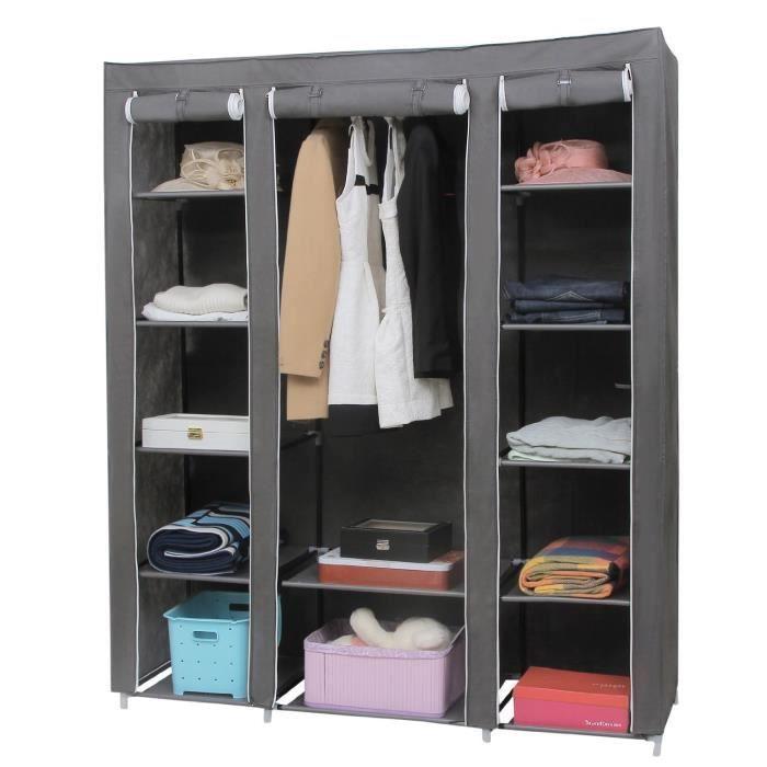 housse armoire rangement vetement chaussure xxl achat vente housse de rangement housse. Black Bedroom Furniture Sets. Home Design Ideas