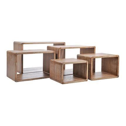 ensemble de 5 tables basse gigogne achat vente table basse ensemble de 5 tables basse. Black Bedroom Furniture Sets. Home Design Ideas
