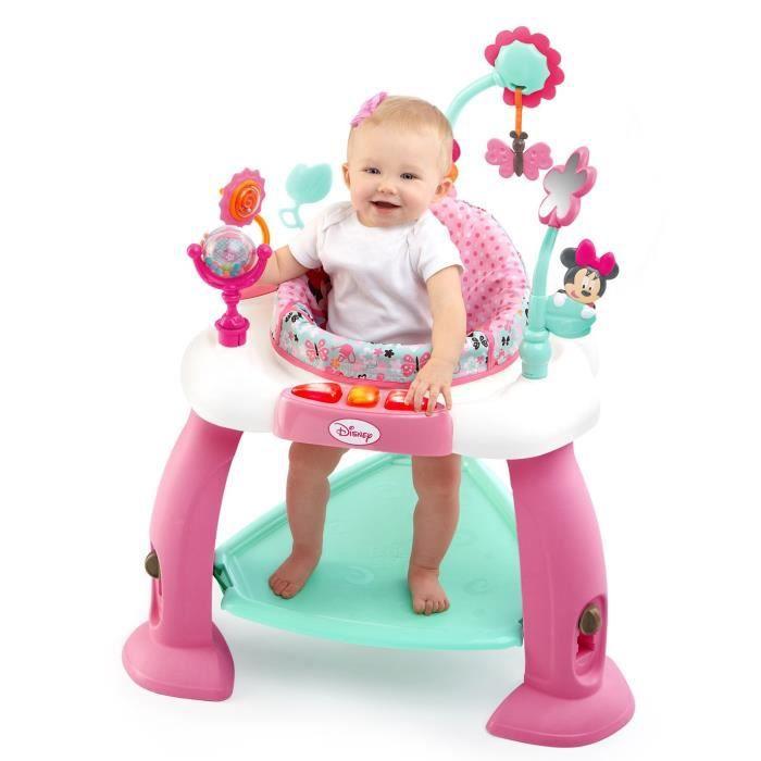 Minnie station de jeux bounce bloom achat vente for Table d activite bebe