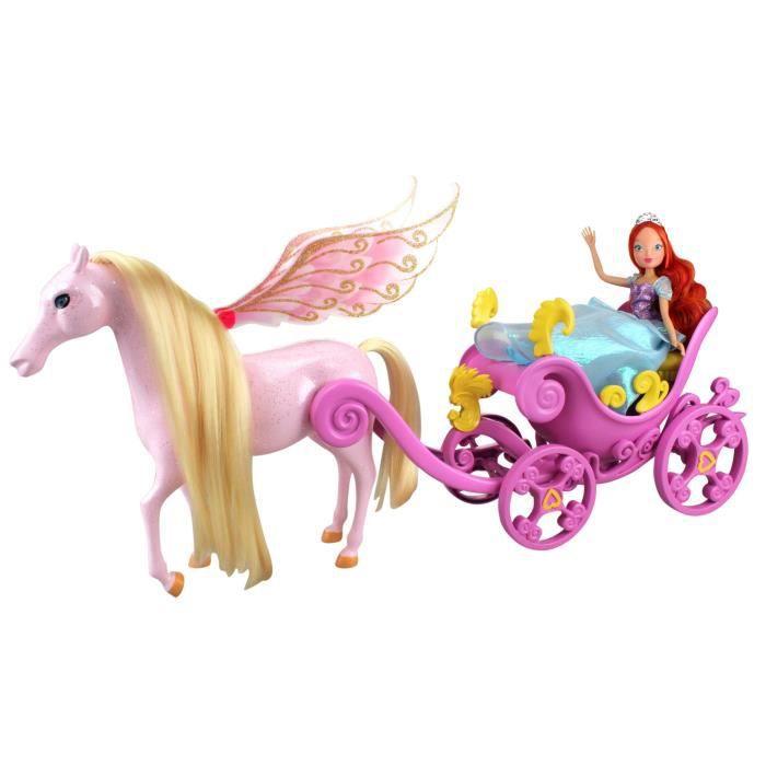 Winx poup e bloom et le carrosse magique achat vente - Carrosse barbie ...