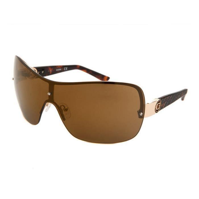 lunettes de soleil femme guess gf0274 32f achat vente lunettes de soleil cdiscount. Black Bedroom Furniture Sets. Home Design Ideas