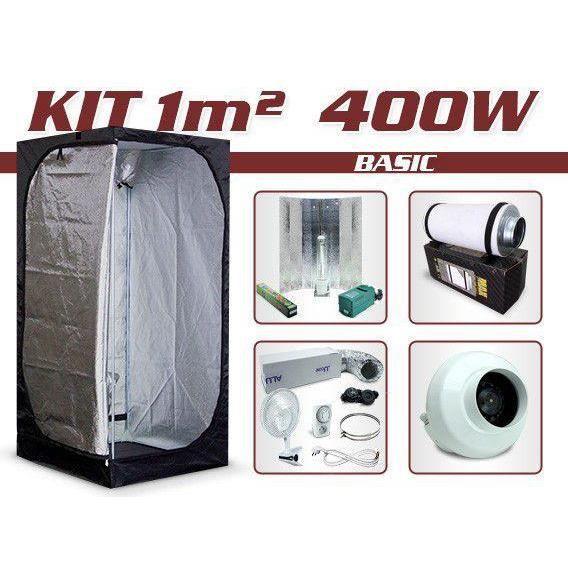 kit growshop complet avec box 1m 400w ba achat vente kit de culture kit growshop. Black Bedroom Furniture Sets. Home Design Ideas