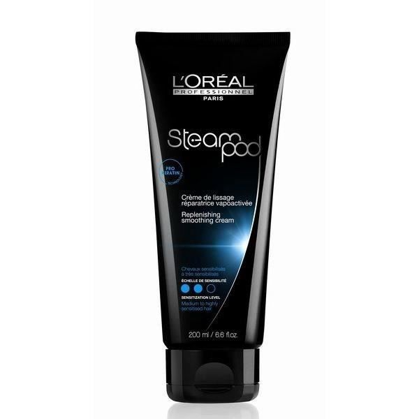 cr me de lissage loreal steampod creme sensitive hair. Black Bedroom Furniture Sets. Home Design Ideas