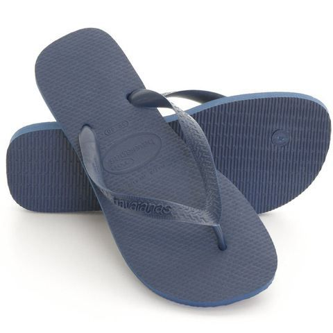 tong havaianas top marine bleu bleu achat vente tong cdiscount. Black Bedroom Furniture Sets. Home Design Ideas