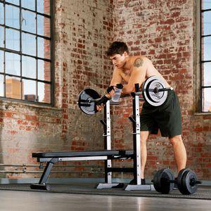 banc de musculation pliable achat vente pas cher cdiscount. Black Bedroom Furniture Sets. Home Design Ideas