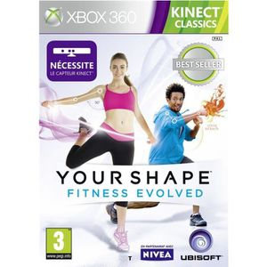 JEUX XBOX 360 YOUR SHAPE FITNESS EVOLVED KINECT CLASSICS