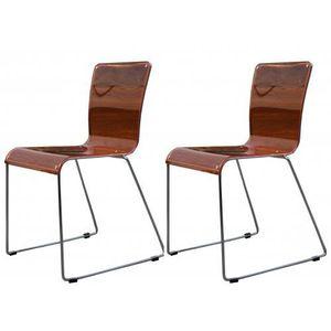 chaises orange achat vente chaises orange pas cher soldes cdiscount. Black Bedroom Furniture Sets. Home Design Ideas