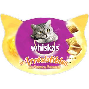 WHISKAS Friandises saveur fromage - Pour chat - 105G