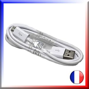 CÂBLE TÉLÉPHONE Cable USB blanc pour WIKO IGGY