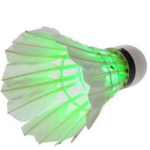 VOLANT DE BADMINTON 5 pcs LED lampe Volants de badminton avec électron
