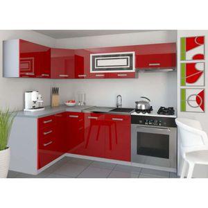 Cuisine equipe rouge achat vente cuisine equipe rouge for Cuisine equip2e