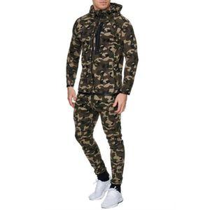SURVÊTEMENT DE SPORT Ensemble survêtement complet camouflage kaki