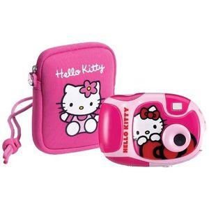 APPAREIL PHOTO ENFANT Appareil Photo + Housse - Hello Kitty - 1.3M Pxls