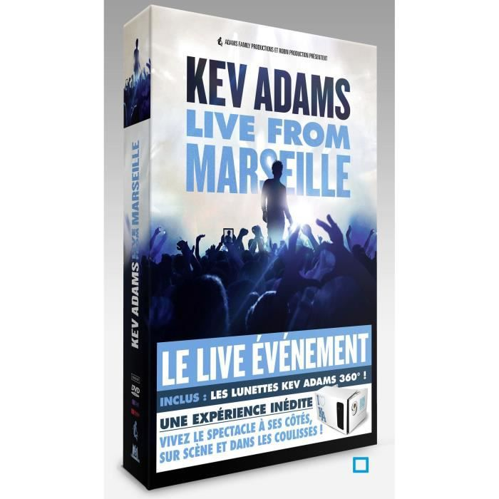 dvd humour spectacles kev adams voila from marseille f