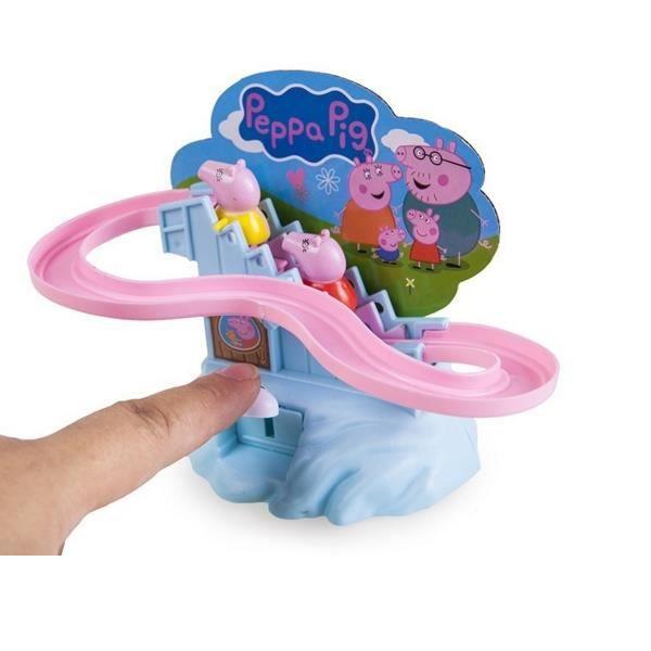 Peppa pig manuel escalade escaliers classic set jouet pour enfants enfants taille couleur - Prise escalade enfant ...
