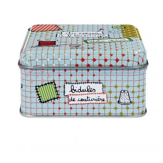 Boite couture garnie coeur l 39 ouvrage achat vente for Boite a couture yvetot