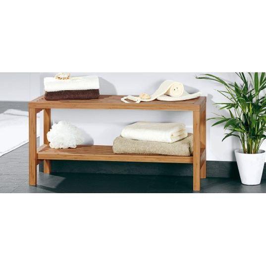 ETAGERE 2 NIVEAUX EN BAMBOU - Achat / Vente meuble étagère ...