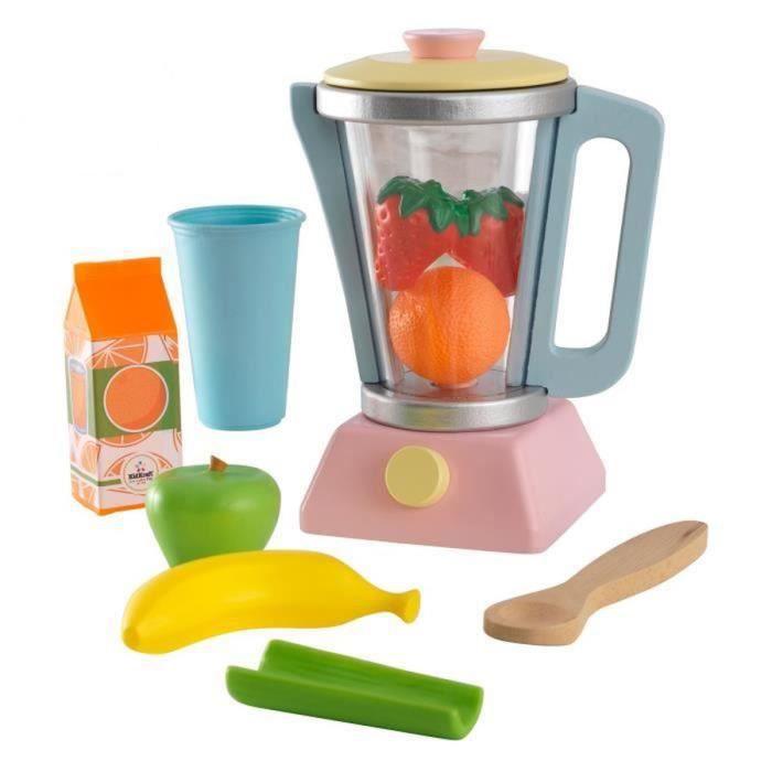 Kidkraft set smoothie couleurs pastel achat vente dinette cuisine c - Cuisine couleur pastel ...