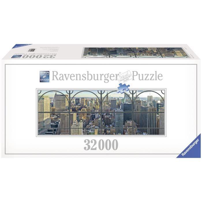 Puzzle 32000 pi ces new york par la fen tre achat for Regarder par la fenetre