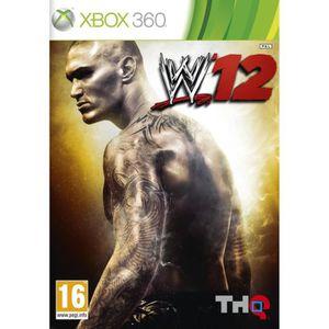 JEUX XBOX 360 WWE SMACKDOWN 2012 / Jeu console X360