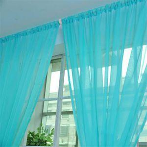 rideau voile bleu achat vente rideau voile bleu pas cher les soldes sur cdiscount cdiscount. Black Bedroom Furniture Sets. Home Design Ideas