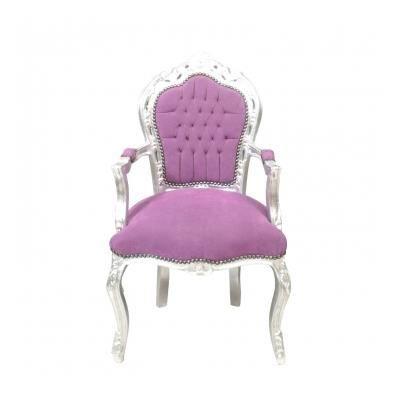 Fauteuil baroque achat vente fauteuil marron cdiscount - Fauteuil 2 places baroque ...