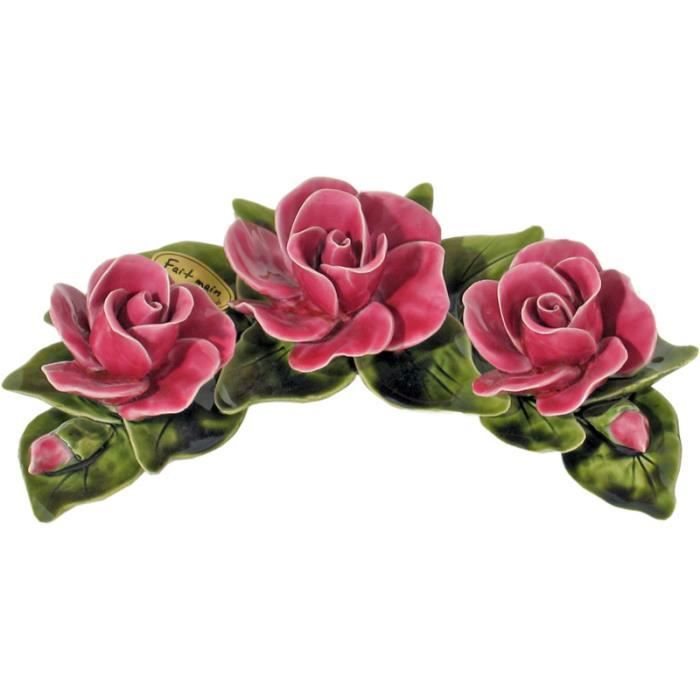 fleur c ramique achat vente plaque fun raire fleur c ramique conomique 2009947573378. Black Bedroom Furniture Sets. Home Design Ideas