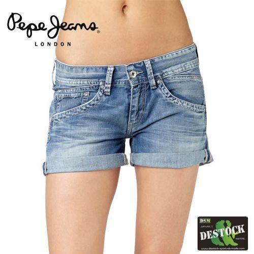 stanley short jeans bleu achat vente short soldes d t cdiscount. Black Bedroom Furniture Sets. Home Design Ideas