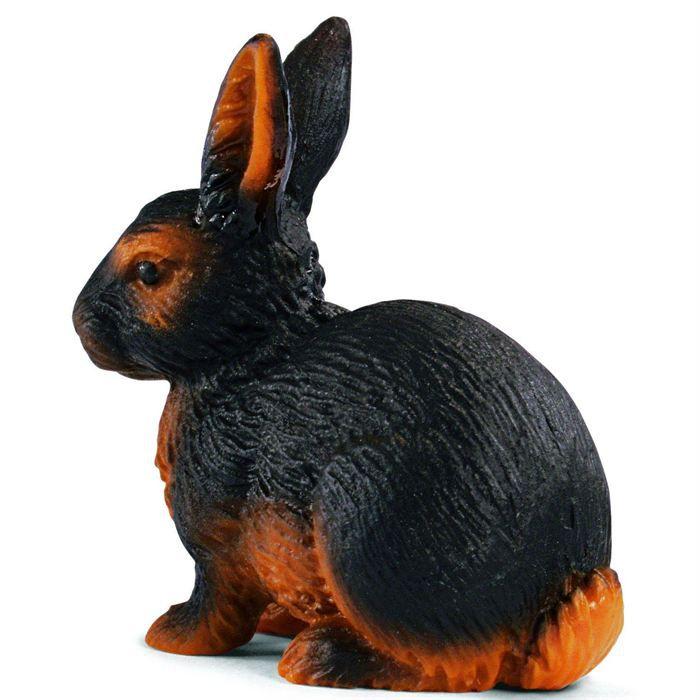 schleich 13137 lapin noir et marron achat vente figurine personnage cdiscount. Black Bedroom Furniture Sets. Home Design Ideas