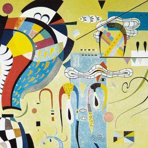 Tableau kandinsky achat vente tableau kandinsky pas for Poster sur toile