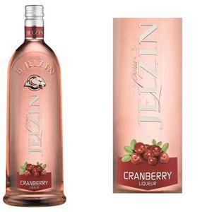 LIQUEUR JELZIN Liqueur de Vodka Cranberry  15°