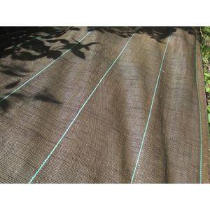 VILMORIN Toile de paillage tissée marron - l 1,05 x L 20 m