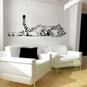 stickers noir et blanc achat vente stickers noir et. Black Bedroom Furniture Sets. Home Design Ideas