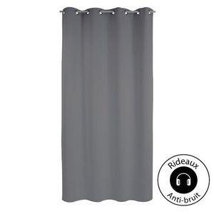 rideaux anti bruit achat vente rideaux anti bruit pas cher cdiscount. Black Bedroom Furniture Sets. Home Design Ideas