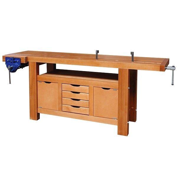 etabli de menuisier outilfrance 17222 achat vente etabli meuble atelier les soldes. Black Bedroom Furniture Sets. Home Design Ideas