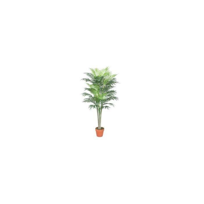 Palmier artificiel 150 cm achat vente gazon artificiel for Vente palmier artificiel