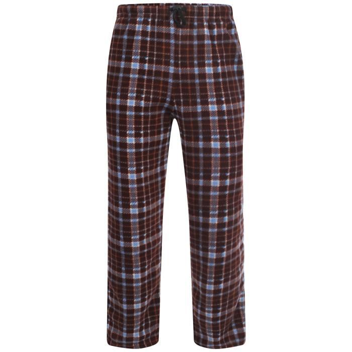 i smalls pantalon de pyjama polaire homme rouge rouge bleu achat vente chemise de nuit. Black Bedroom Furniture Sets. Home Design Ideas