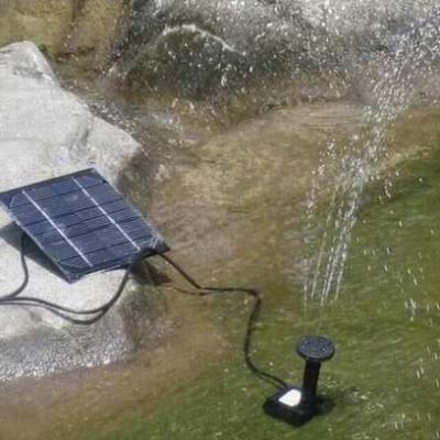 Pompe a eau solaire fontaine piscine bassin jardin achat for Piscine pompe solaire