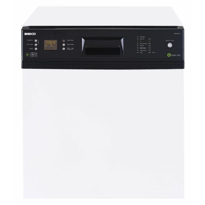 beko dsn 6837b lave vaisselle achat vente lave vaisselle cdiscount. Black Bedroom Furniture Sets. Home Design Ideas