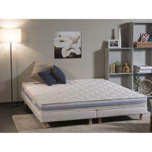 matelas plus sommier 200x180 achat vente matelas plus sommier 200x180 pas cher cdiscount. Black Bedroom Furniture Sets. Home Design Ideas