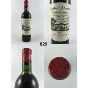 vin rouge chteau dauzac 1964 n 829 - Chateau Dauzac Mariage