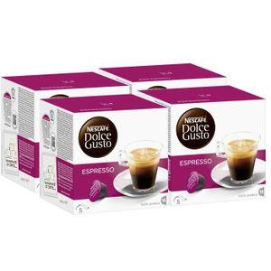 CAFÉ - CHICORÉE Nescafe Dolce Gusto Espresso Cafe 64 Dosettes