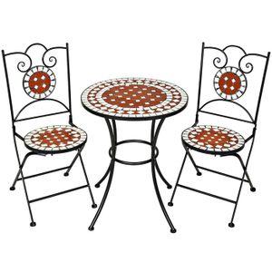 Table De Jardin En Mosaique Achat Vente Table De Jardin En Mosaique Pas Cher Cdiscount